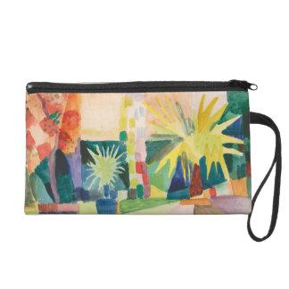 """Garden On Lake Thun"" Art accessory bags"