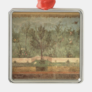 Garden Paintings from the  'Villa of Livia' Christmas Ornament