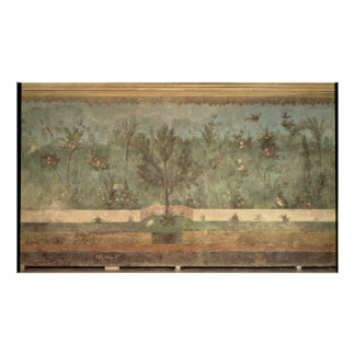 Garden Paintings from the Villa of Livia Posters