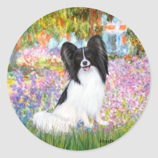 Garden - Papillon 1 Classic Round Sticker