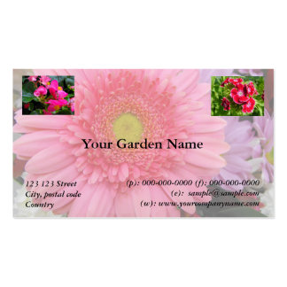 Garden, Park, Recreation, add your photos Pack Of Standard Business Cards