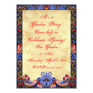 Garden Party 5X7 Invitations