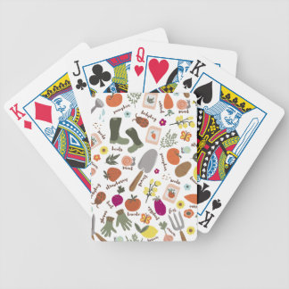 Garden Party Bicycle Playing Cards