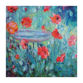 Garden Party Stretched Canvas Prints