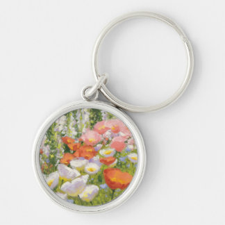 Garden Pastels Key Ring
