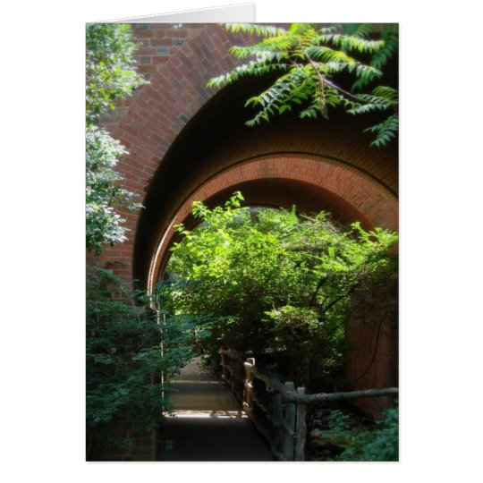 Garden path blank notecard