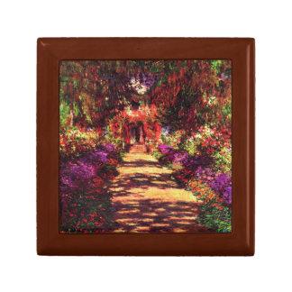 Garden Path by Claude Monet Gift Box