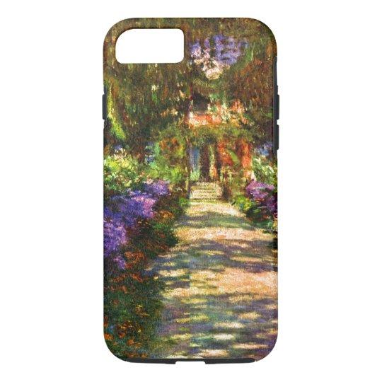 Garden Path by Claude Monet iPhone 7 Case