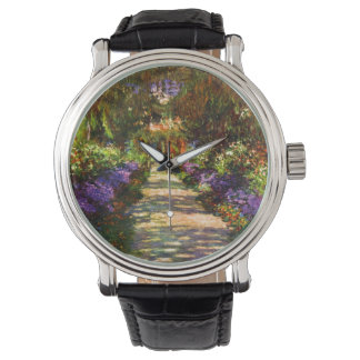 Garden Path by Claude Monet Watch