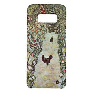 Garden Path w Chickens, Gustav Klimt, Art Nouveau Case-Mate Samsung Galaxy S8 Case