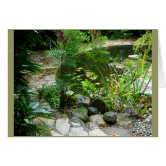 Garden Patio Card
