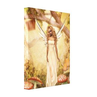 Garden Peaches Gallery Wrap Canvas