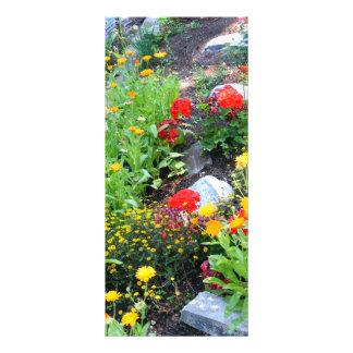 Garden Personalized Rack Card