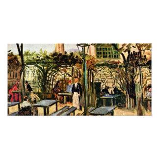 Garden Place On Montmartre (La Guinguette), Photo Card Template