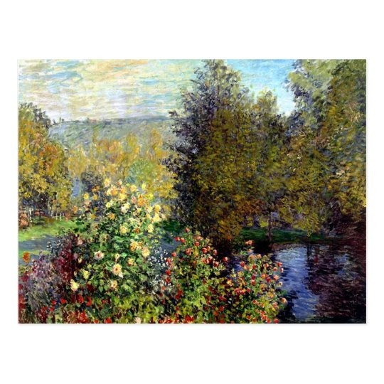 Garden Pond by Monet Postcard