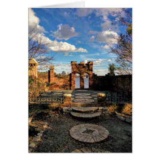Garden Portal blank card