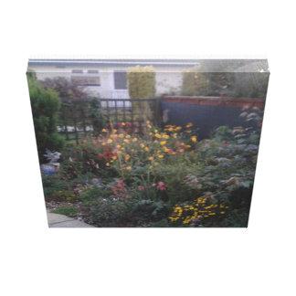 """Garden print canvas 12"""" x 12"""" x 1.5"""" gallery wrap canvas"""