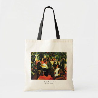 Garden Restaurant By Macke August Budget Tote Bag