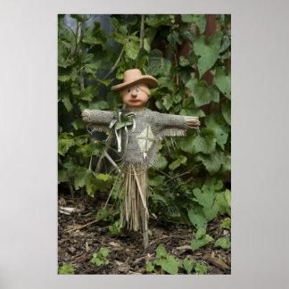 Garden Scarecrow Poster