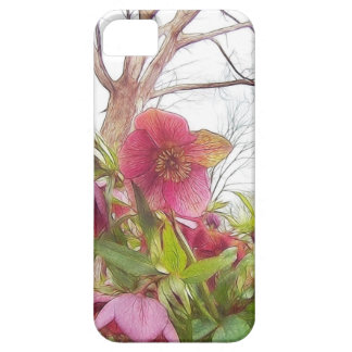 Garden Scene - Hellebores And Old Oak iPhone 5 Covers