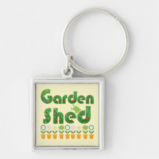 Garden Shed Key Ring