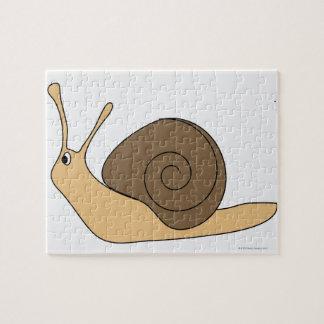 Garden Snail Jigsaw Puzzle