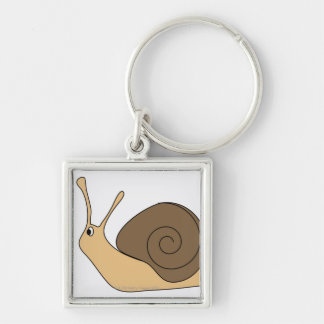 Garden Snail Key Ring