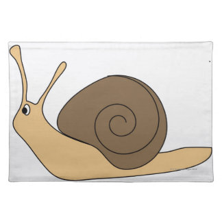 Garden Snail Placemat