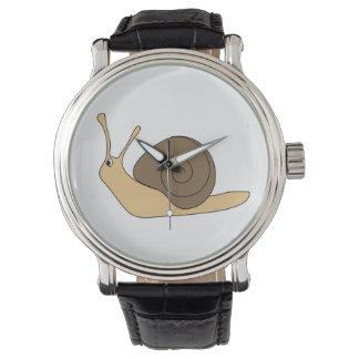 Garden Snail Wristwatch