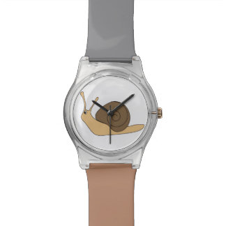 Garden Snail Wristwatches