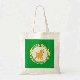 Garden State Golden Retriever Tote Bag