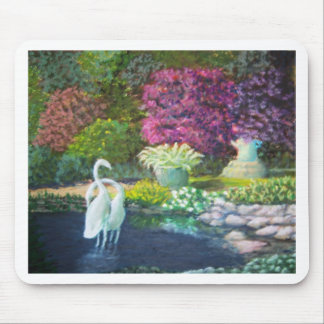 garden statues mouse pads