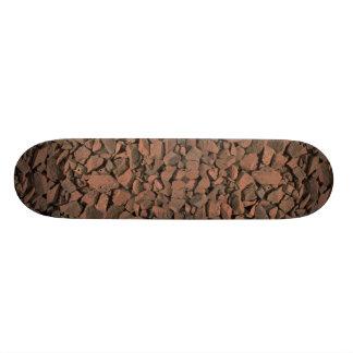 Garden stones texture skate boards