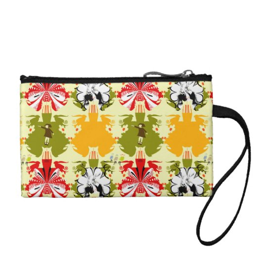 """Garden Story"" Key Coin Clutch"