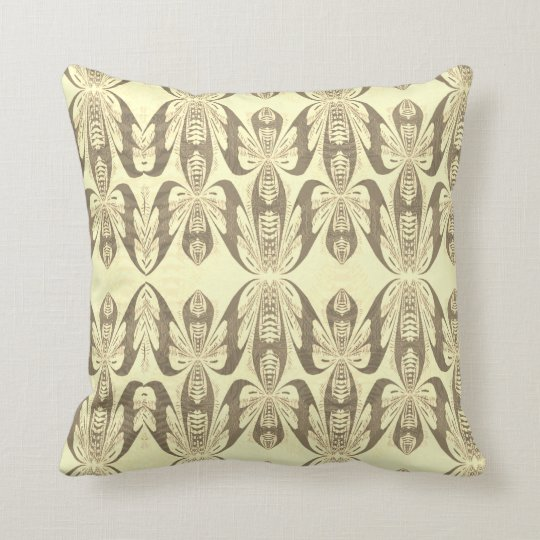 """Garden Story"" Printed Throw Cushion"