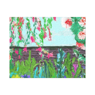 Garden. Stretched Canvas Prints