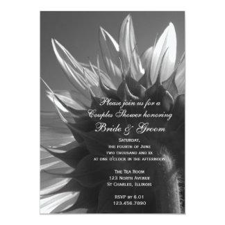 Garden Sunflower Couples Wedding Shower Invitation