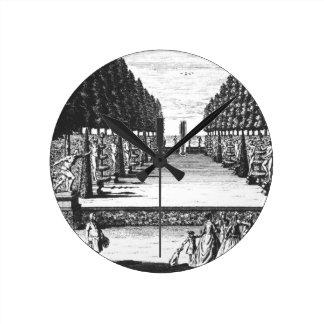 Garden Theatre at Herrenhausen, engraved by Joost Round Clock