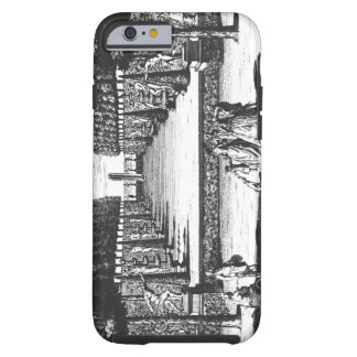 Garden Theatre at Herrenhausen, engraved by Joost Tough iPhone 6 Case