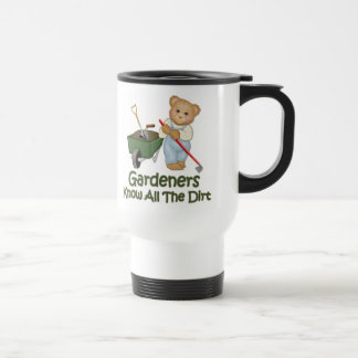 Garden Tips 1 - Know Dirt Stainless Steel Travel Mug