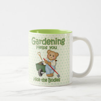 Garden Tips #2 - Hide Bodies Two-Tone Mug