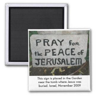 Garden Tomb Israel Magnet