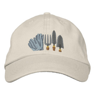 Garden Tools Embroidered Baseball Caps