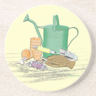 Garden Tools Garden Art Coaster