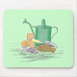 Garden Tools Garden Art Mouse Mat