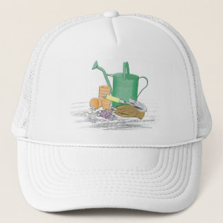Garden Tools Garden Art Trucker Hat