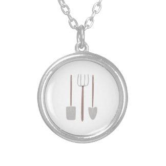 Garden Tools Custom Necklace