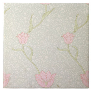'Garden Tulip' wallpaper design, 1885 Tile