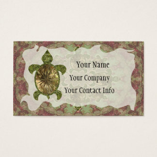 Garden Turtle Business Card Template
