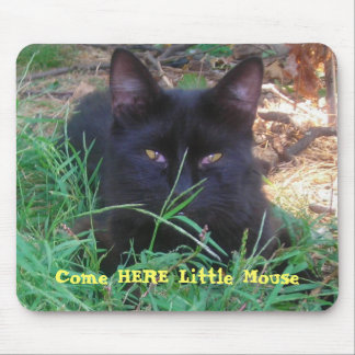 Garden Variety Jungle Cat Mouse Pad